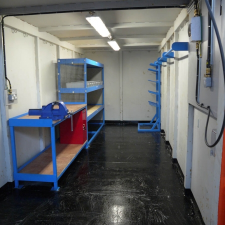 Container Based Workshops And Rigging Lofts Lift Rite 1
