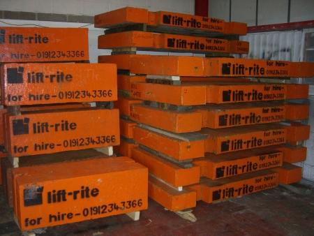 Test Weights & Cradles Lift Rite 4