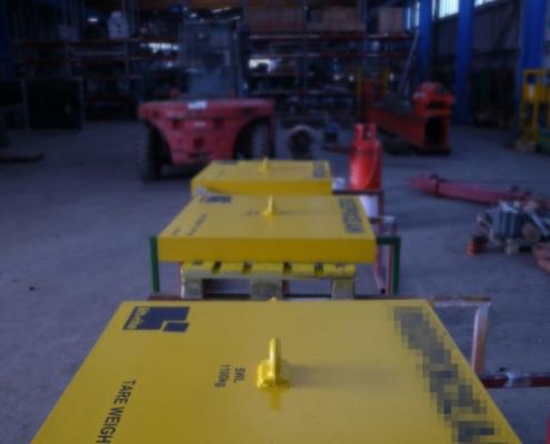 Lift Rite Design Manufacture Test Bespoke 1te Weights