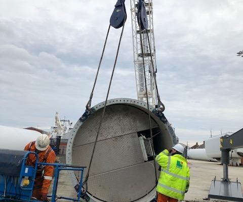 Port of Blyth Wind Turbine